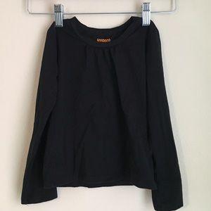 3t black long sleeve (girls)